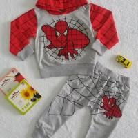 Baju Sweater Anak Spider Man   Baju Setelan Anak Import