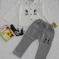 Baju Setelan Anak Mouse Face   Baju Import Anak
