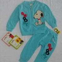 Baju Setelan Anak Snoopy   Baju Anak Import