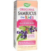 Nature's Natures Way Original Sambucus for Kids Kid's Elderberry 120ml