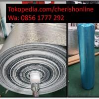 Insulasi Thermal Foam 1mm | Metalizing Foam Single Side Peredam Panas