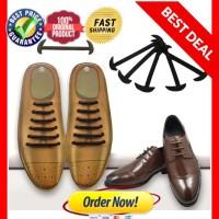 TALI SEPATU LAZY SHOELACES - tali sepatu tanpa ikat / no tie shoelace