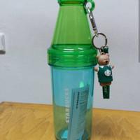 Tumbler Starbucks Tumbler Botol Gantungan Bearista Hijau