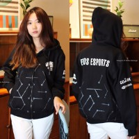 JAKET EVOS ESPORT GAMING DOTA2 BLACK