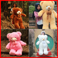 Boneka Teddy Bear Beruang Super Jumbo Semua Warna