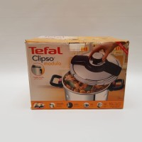 (CUCI GUDANG) TEFAL PANCI PRESTO STAINLESS STEEL TEBAL 10 L