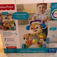 Fisher Price Learn With Puppy Walker