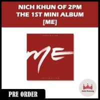 NICH KHUN of 2PM - ME [Mini Album Vol.1]