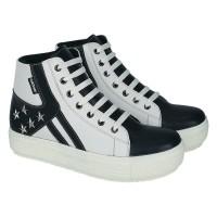 Sepatu Boots Wanita Casual Dan Model Trandy Masakini - CDO 011 - Putih, 37
