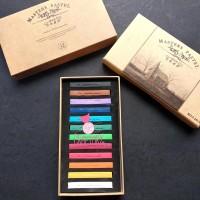 Maries Master Soft Pastel Color Crayon Hair Coloring Set 12 Warna