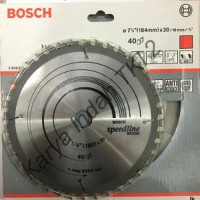 Gergaji Circle Kayu BOSCH 7 .25 Inch Mata 40 Circular S Best Deals