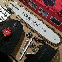 CHAIN SAW For Mesin Gerinda Potong 4 inchi Chainsaw . A Best Deals