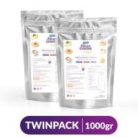 FiberCreme Foil Pack 1000gr Twinpack