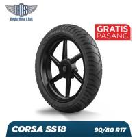 Ban Motor Corsa RGL SS 18 - 90/80 - 17 - TUBETYPE GRATIS JASA PASANG