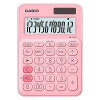 CASIO Colorful Calculator MS-20UC-Pink