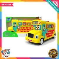 Hola - School Bus - Mainan Bus Sekolah - NB-03538
