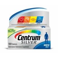Centrum Silver Men 50+ Multivitamin USA 100 tablets