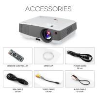 TJ600D PLus Portable LED Proyektor / Projector 2600 Lumens HDMI 1080p