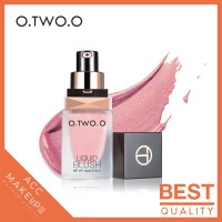 O.TWO.O Liquid Blush On Very Light Texture Color Long Lasting #225