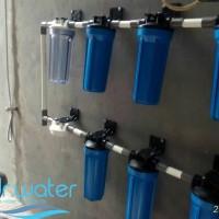 Filter penjernih air sumur bor, PDAM & sumber air lainnya