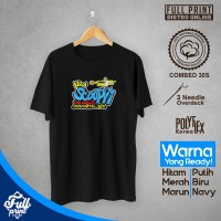 Kaos New Scoopy fun unlimit Cotton Combed 30s Distro