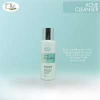 Acne No More Facial Milk Cleanser Ellaskincare/Susu Pembersih Jerawat