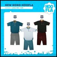 Baju koko Anak Celana sarung stelan muslim Hoofla kids Distro Branded