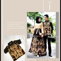 baju batik couple gamis keluarga anak muda modern modis untuk pesta