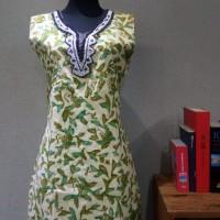 Dress Batik Katun Tulis Lasem uk XL Brand Batik Muda BAAD25154