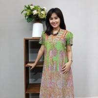 Dress Batik Katun Cirebon uk L Brand Batik Muda (BAAD72123)