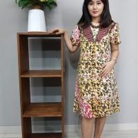 Dress Katun Cirebon uk L Brand Batik Muda - BAAD72123