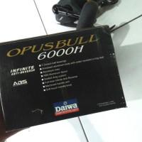 ( REEL DAIWA OPUSBULL 6000H body metal reel laut