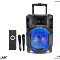 Harga portable sound system bluetooth 12 inch naiwa was 112lvb | antitipu.com