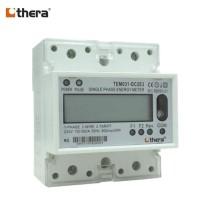 THERA TEM031-D Series, LCD 4-Mod.2-Tariff DIN-Rail 1-Phase kWh Meter