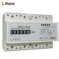 THERA TEM021-C Series, 7-Module DIN-Rail 3-Phase kWh/Energy Meter