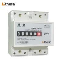 THERA TEM011-C Series, 2-Mod. DIN-Rail Single phase Energy/kWh Meter