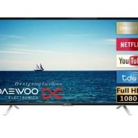 Daewoo Android Smart TV - L43S790NSV - Free Ongkir