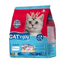 Cat Food Cat'njoy oceanfish adult cat 1,2kg