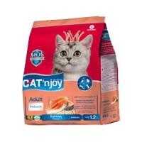Cat Food Cat'njoy salmon adult cat 1,2kg