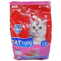 Cat Food Cat'njoy tuna & shrimp adult cat 3kg