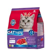 Cat Food Cat'njoy tuna adult cat 1,2kg