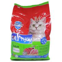 Cat Food Cat'njoy tuna, chicken & shrimp adult cat 3kg