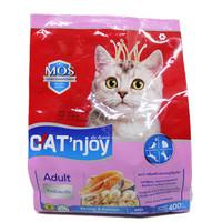 Cat Food Cat'njoy shrimp & salmon adult cat 400gr