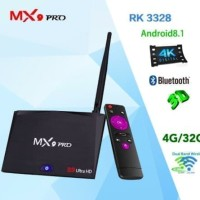 Android Tv Box MX9 Pro 4G/32G Android 8.1 OREO Bluetooth 4.1 FULL APPS