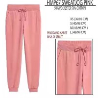 H&M Sweat Jogger Pants - Pink