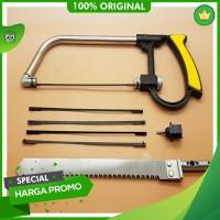 Premium Exclusive Gergaji Multifungsi Set 3 Way Blade Magic Saw