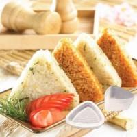 SEGITIGA Cetakan Nasi Kepal Nori Onigiri Sushi Rice Mold Bento Maker