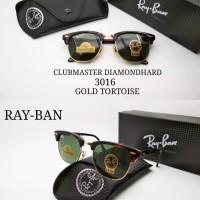 Kacamata sunglass Rayban clubmaster 3016 Diamond lensa kaca kw super