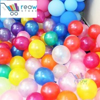 "Balon Latex Metalik 5 inch / 5"""
