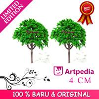 MAKET Pohon / Diorama Pohon / Miniatur Pohon 4 CM / Tree Type A - 4CM